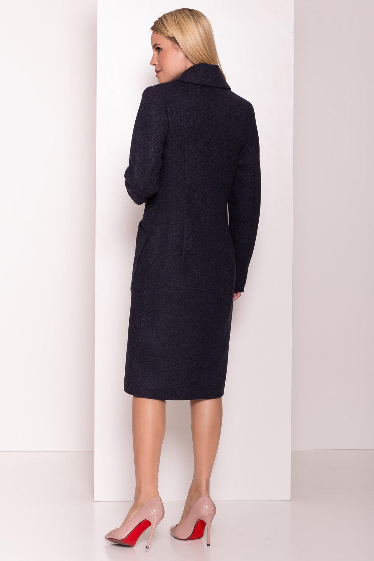 Классическое пальто Габриэлла 7872 Цвет: Т.синий 6