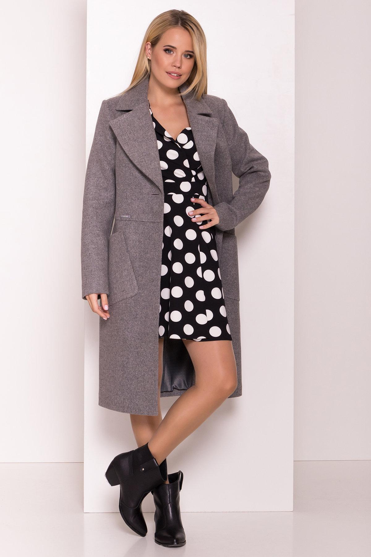 Классическое пальто Габриэлла 7872 АРТ. 43800 Цвет: Карамель 20/1 - фото 3, интернет магазин tm-modus.ru