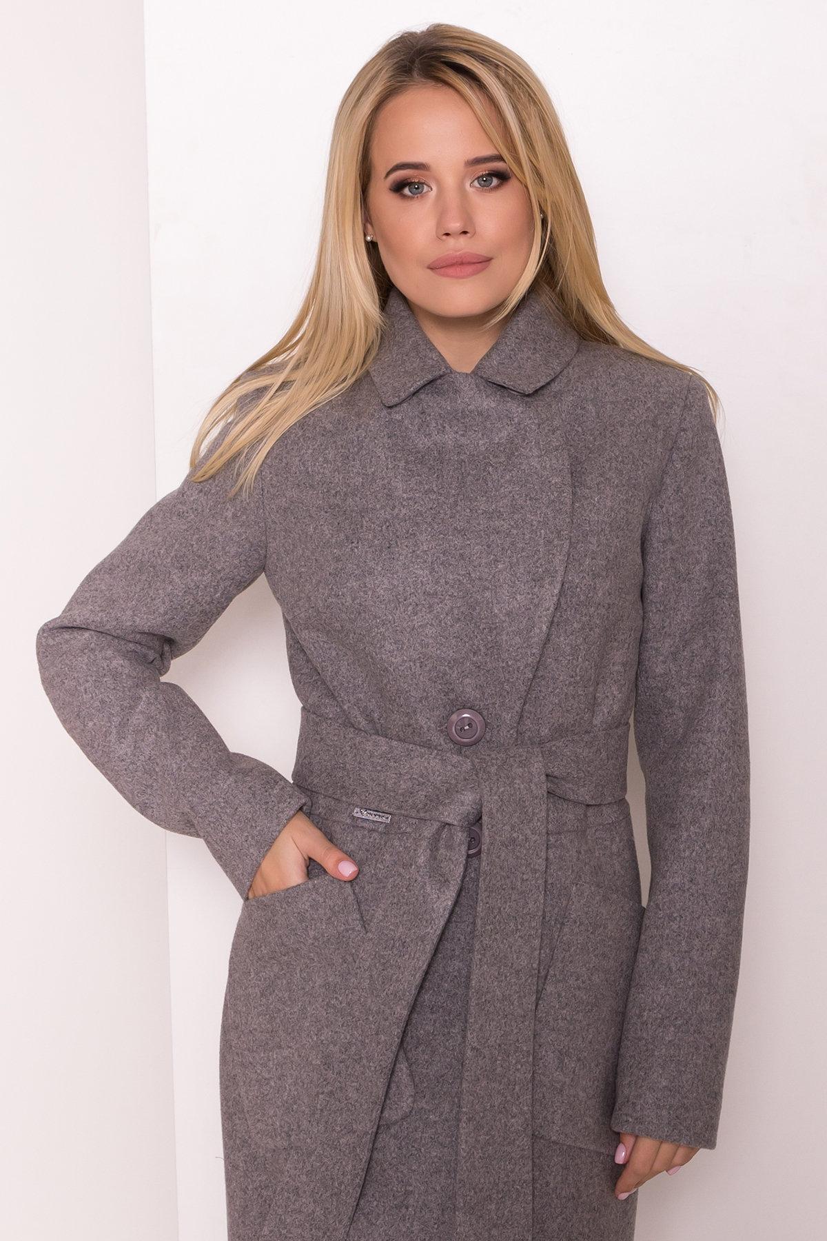 Классическое пальто Габриэлла 7872 АРТ. 43800 Цвет: Карамель 20/1 - фото 5, интернет магазин tm-modus.ru