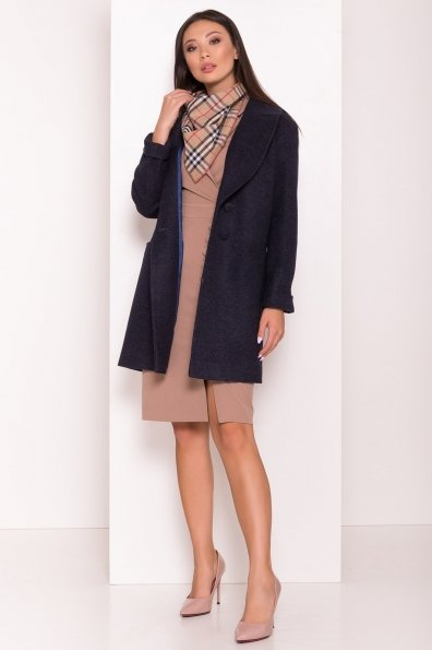 Пальто Вива 7868 Цвет: Темно-синий 6