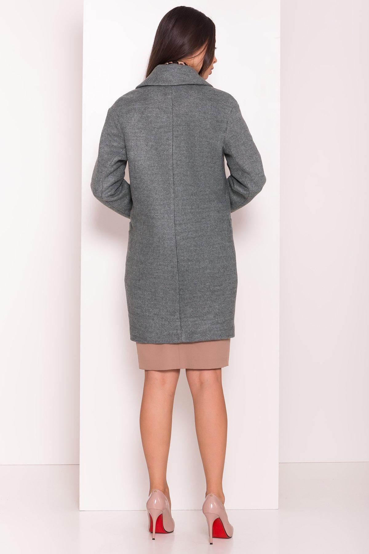 Пальто Вива 7868 АРТ. 43865 Цвет: Зеленый Темный 4 - фото 3, интернет магазин tm-modus.ru