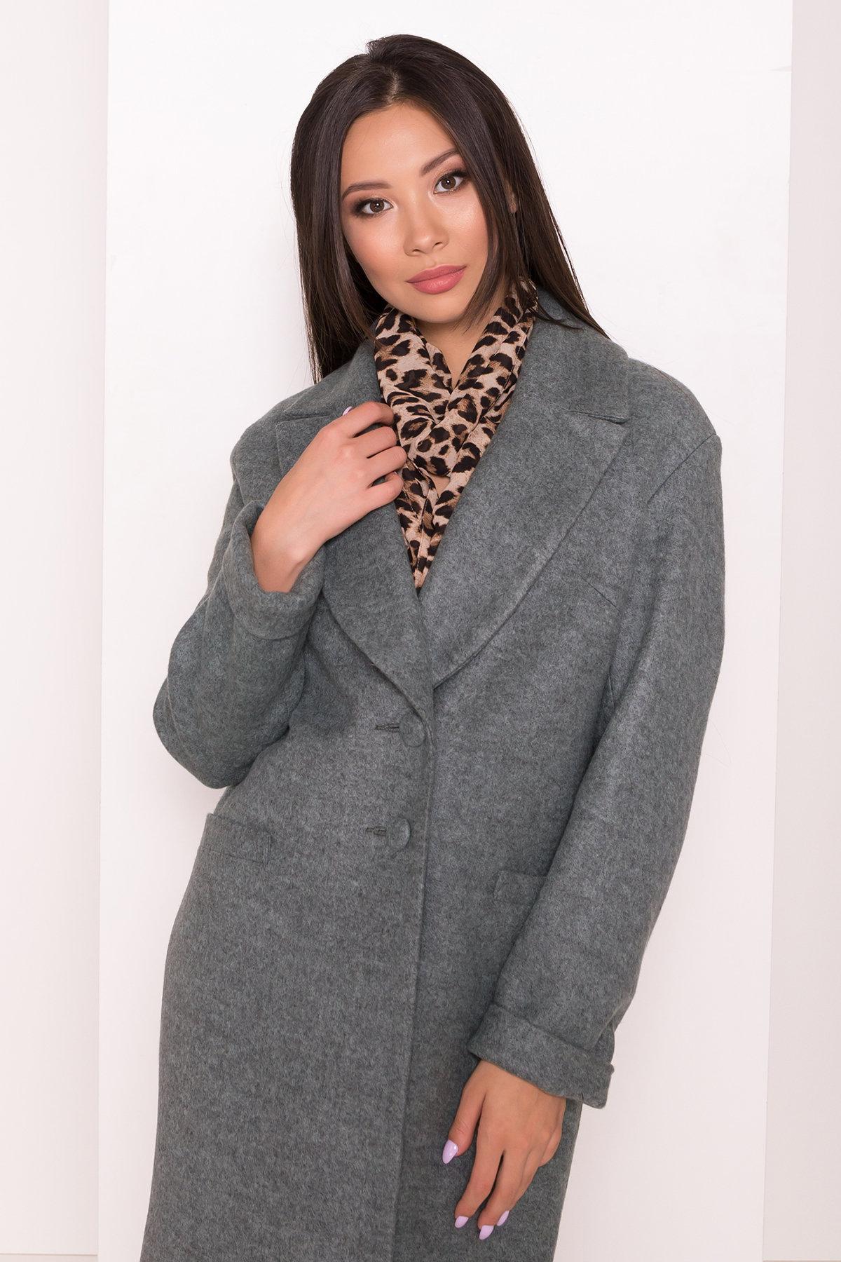 Пальто Вива 7868 АРТ. 43865 Цвет: Зеленый Темный 4 - фото 4, интернет магазин tm-modus.ru