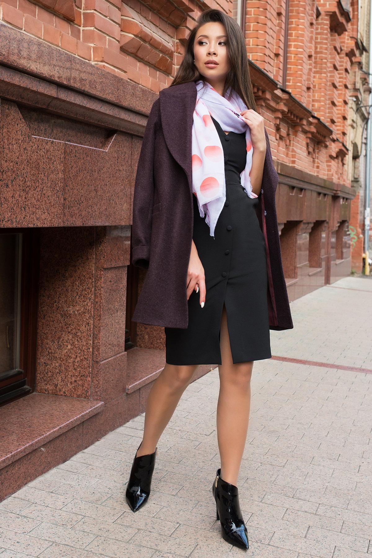 Деловое платье миди Тетрис 7917 АРТ. 43849 Цвет: Черный - фото 4, интернет магазин tm-modus.ru