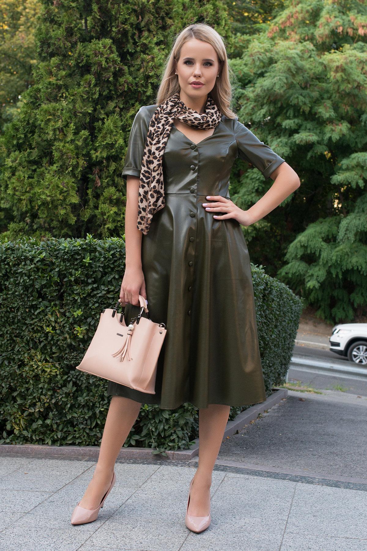 Купить платья оптом в Украине Платье длинной ниже колена Фернанда 7875