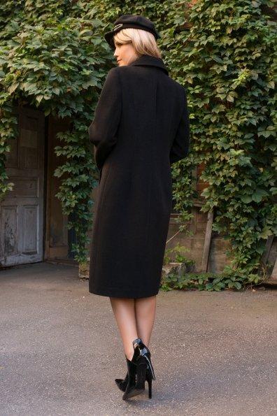 Кашемировое пальто осенние Кареро 7970 Цвет: Черный