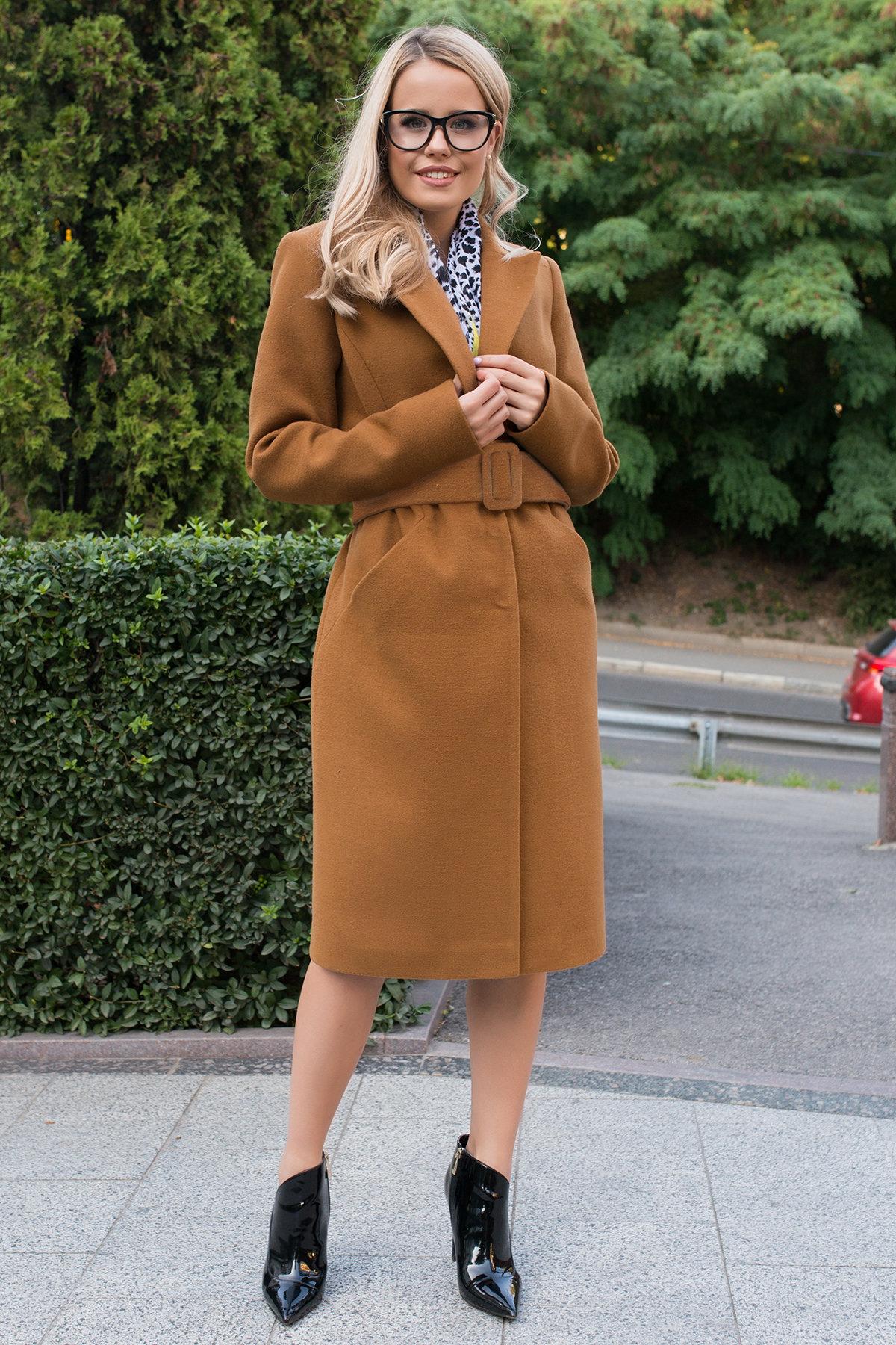 Купить пальто женское демисезонное от Modus Пальто осенние Кареро 7968