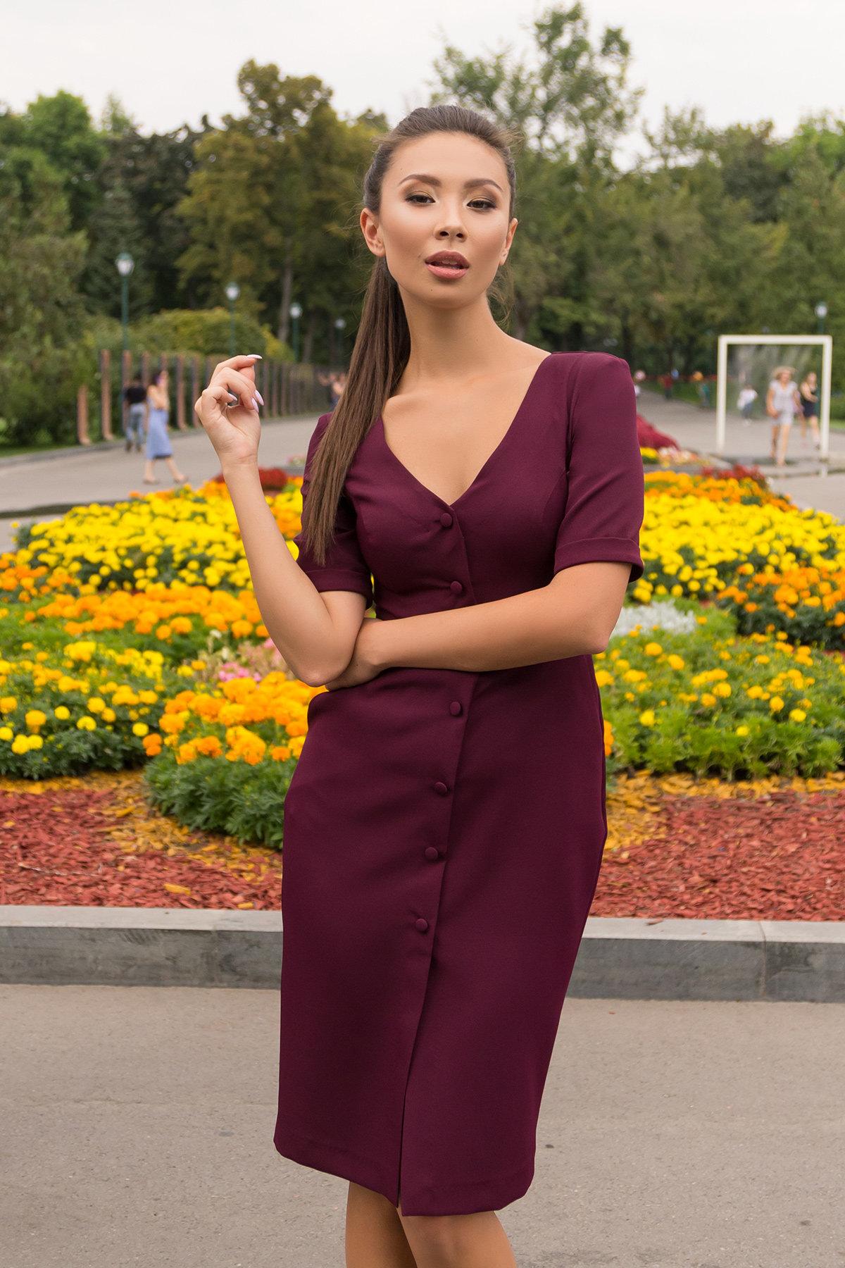 Купить платья оптом в Украине от Modus Деловое платье миди Тетрис 7917