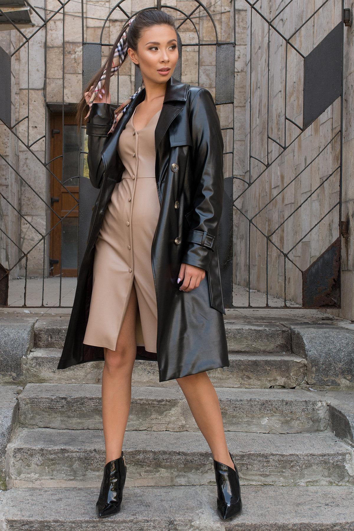 Купить пальто женское демисезонное от Modus Пальто-тренч из экокожи Аккорд 7996