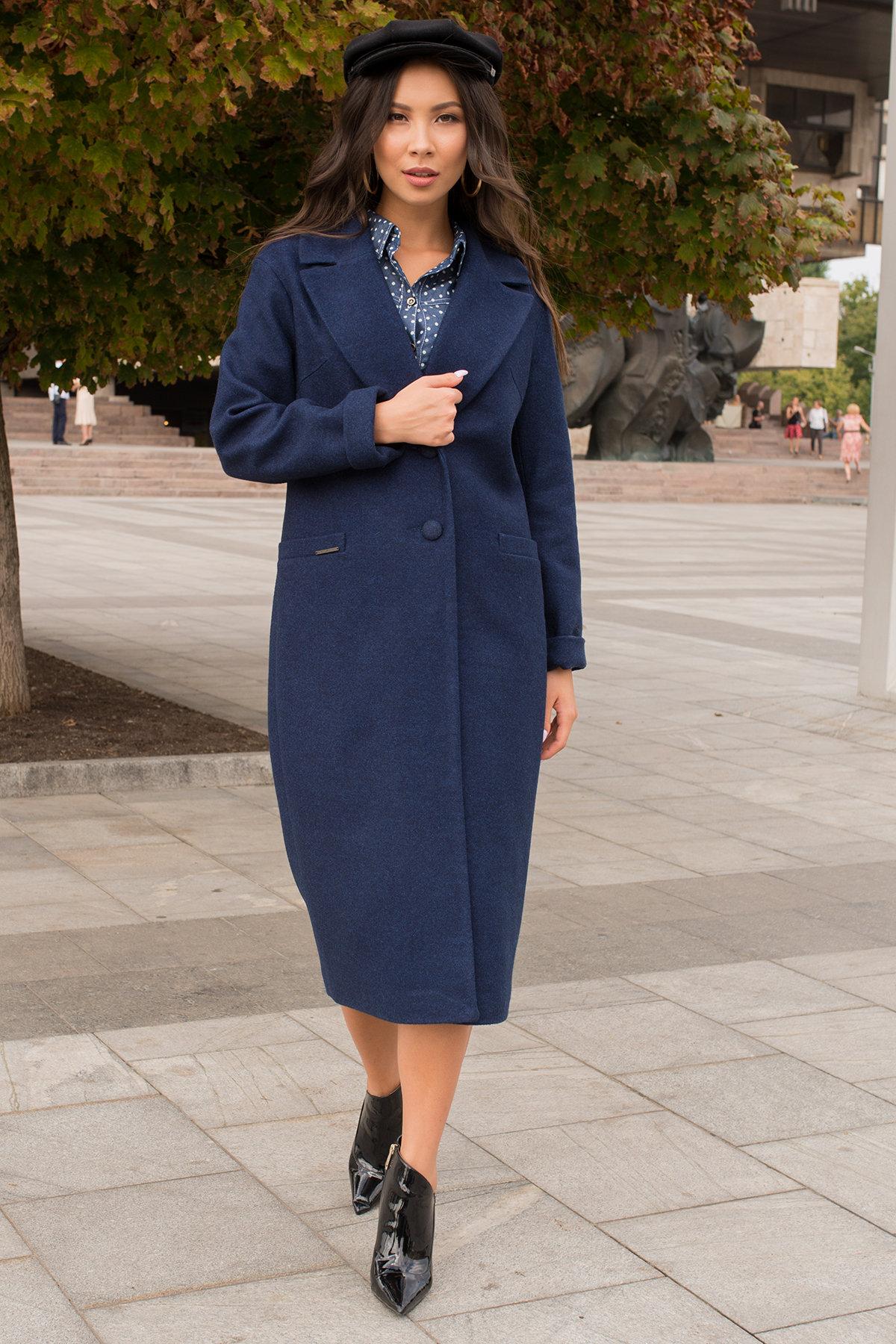 Модус женская одежда оптом недорого Демисезонное пальто с прорезными карманами Вива 6378