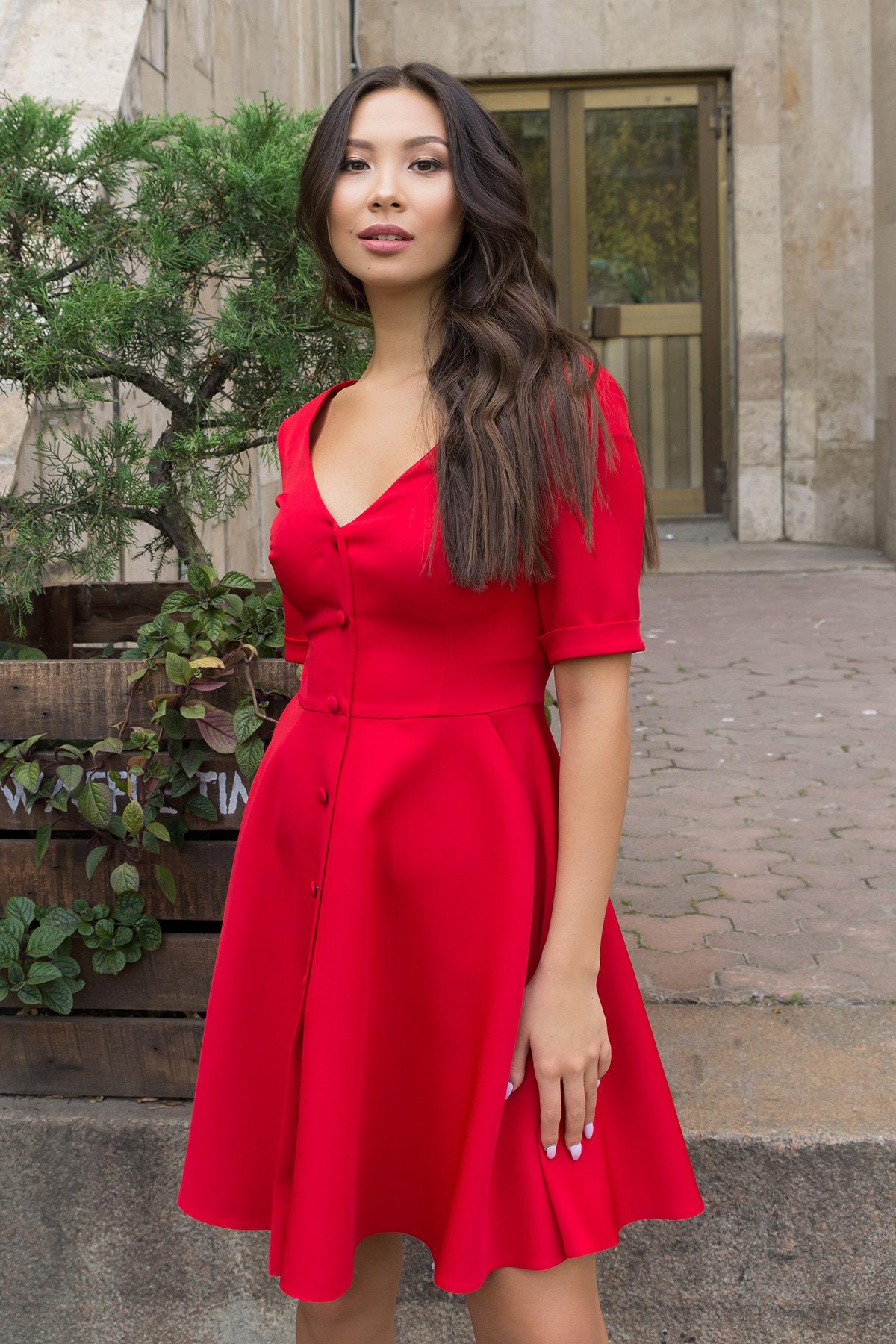 Платье в интернет магазине Стильное платья на пуговицах Фернанда 7848