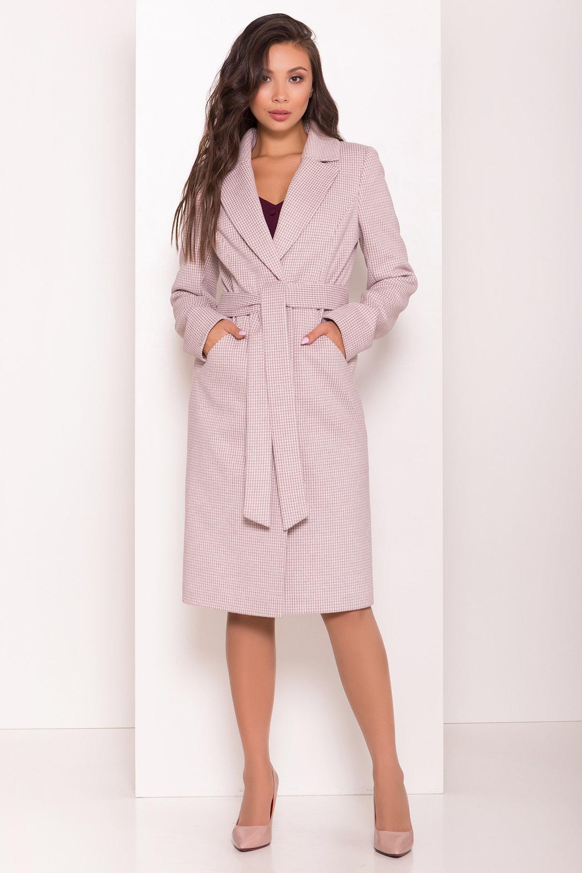 Пальто женское демисезонное интернет магазин TM Modus Стильное женское пальто с принтом Мехико 7831