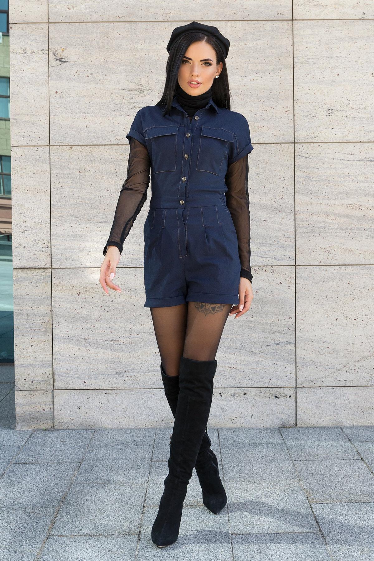 Купить женскую одежду оптом Modus Ромпер из джинса Кемел 7855