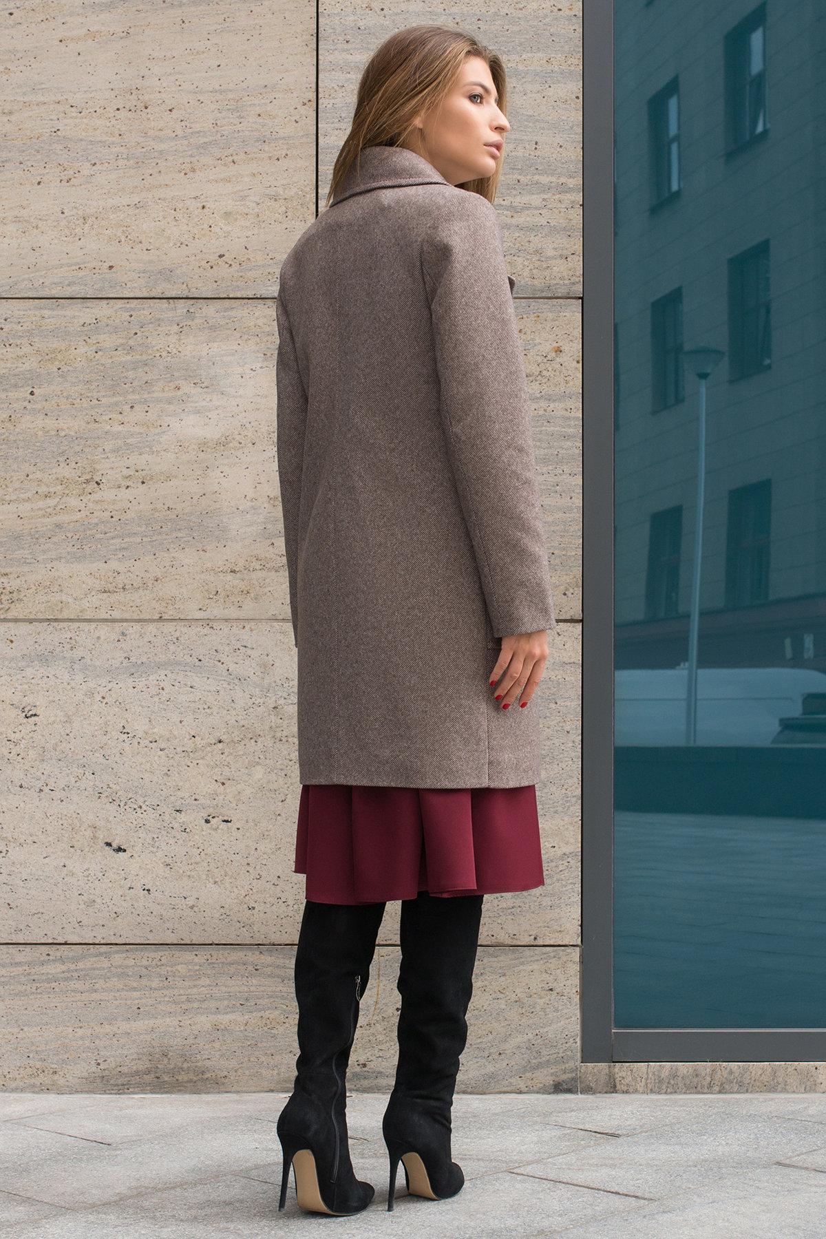 Пальто Мила 8044 Цвет: Шоколад 2