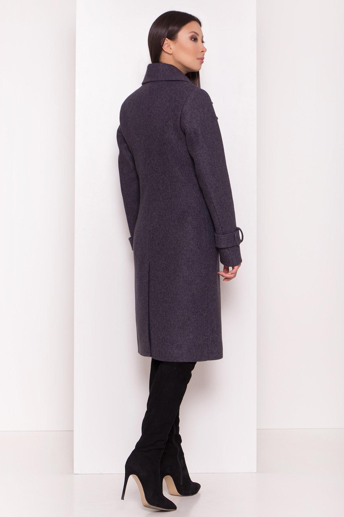 Двубортное пальто демисезон Монте 8089 АРТ. 44032 Цвет: т. синий 543 - фото 6, интернет магазин tm-modus.ru