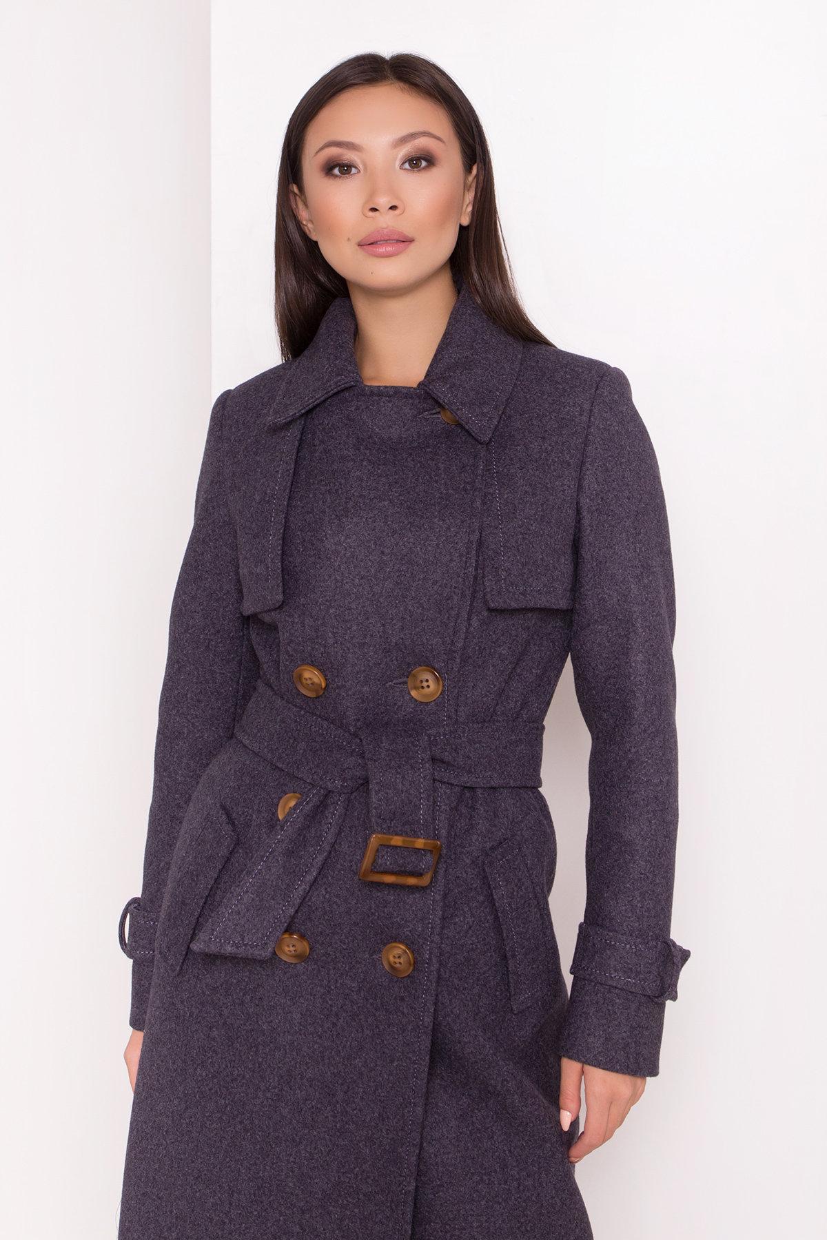 Двубортное пальто демисезон Монте 8089 АРТ. 44032 Цвет: т. синий 543 - фото 10, интернет магазин tm-modus.ru
