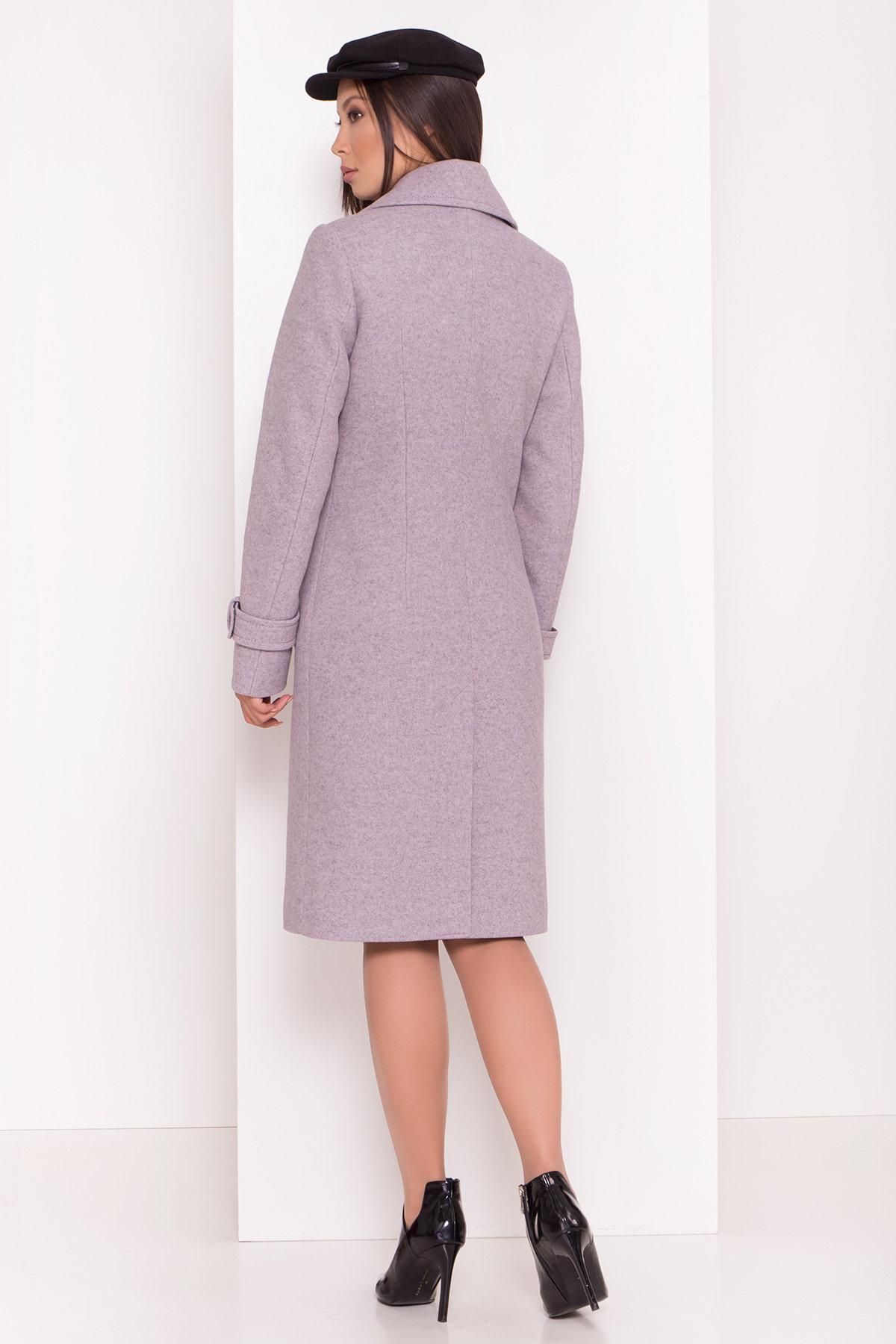 Двубортное пальто демисезон Монте 8089 АРТ. 44031 Цвет: Серый-розовый - фото 6, интернет магазин tm-modus.ru