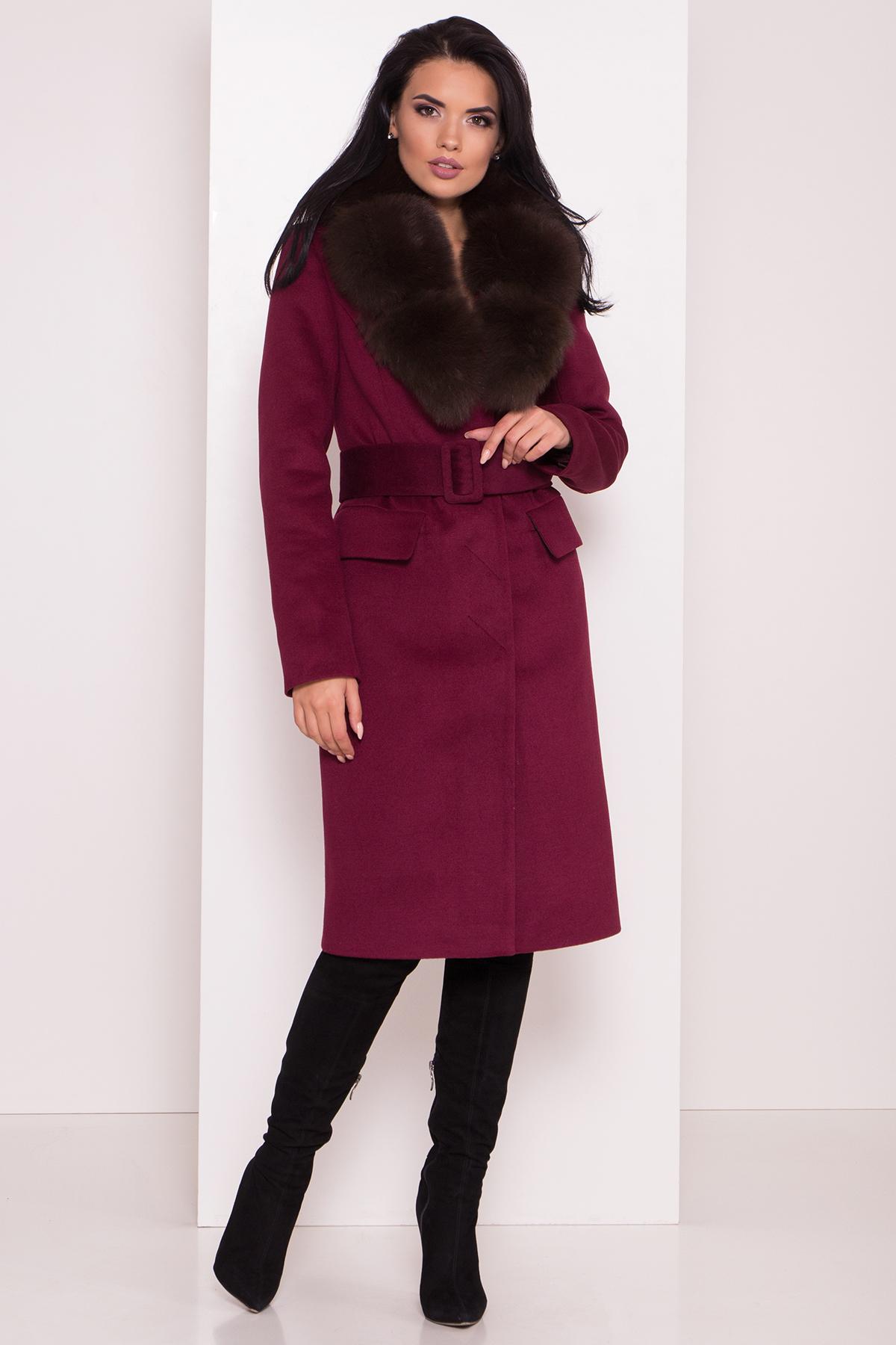 Заказать пальто оптом от Modus Кашемировое зимнее пальто Лабио 8154