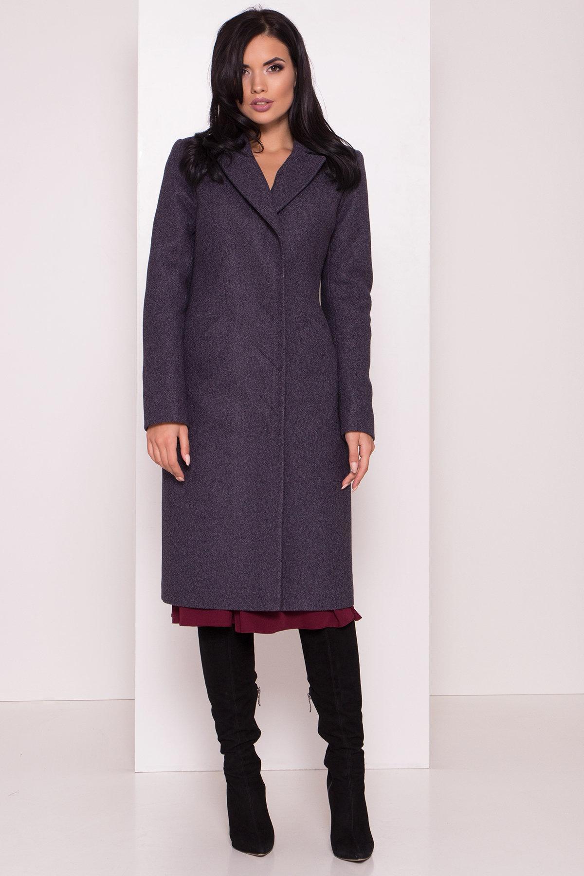 Пальто зима Кареро 8067 АРТ. 44013 Цвет: Т.синий 543 - фото 5, интернет магазин tm-modus.ru
