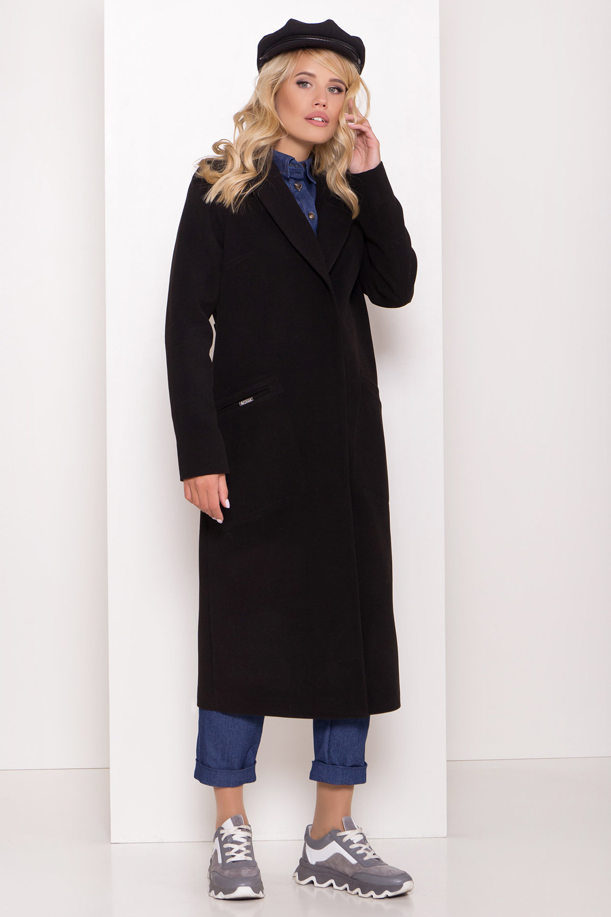 Демисезонного пальто оптом ТМ Modus Длинное демисезонное пальто Ждана лайт 8111