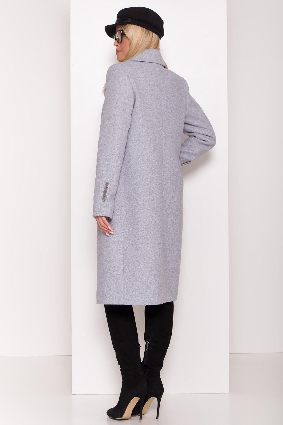 Пальто зима Реджи классик 8202 АРТ. 44217 Цвет: Серый Светлый 33 - фото 3, интернет магазин tm-modus.ru