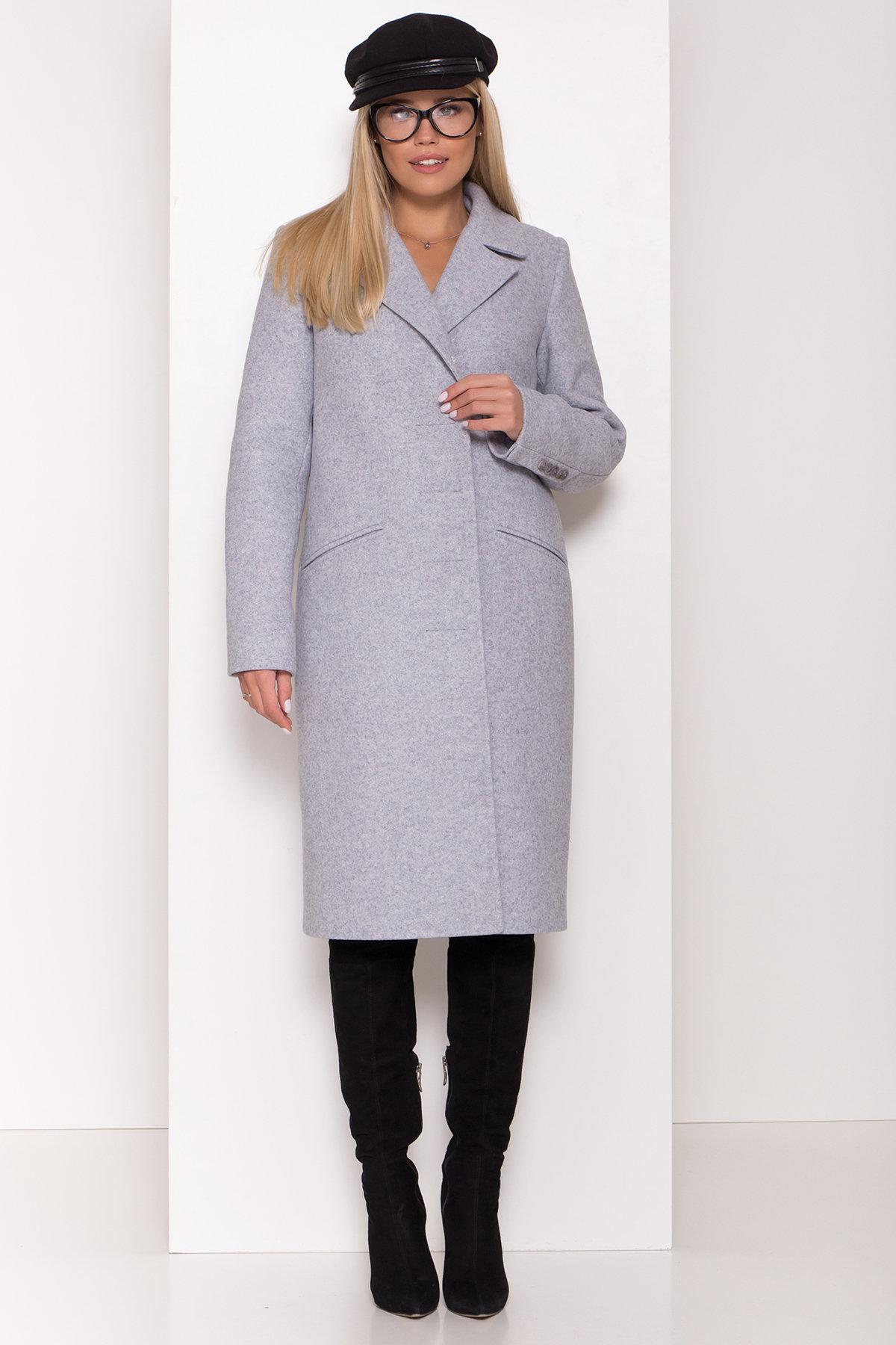 Пальто зима Реджи классик 8202 АРТ. 44217 Цвет: Серый Светлый 33 - фото 4, интернет магазин tm-modus.ru