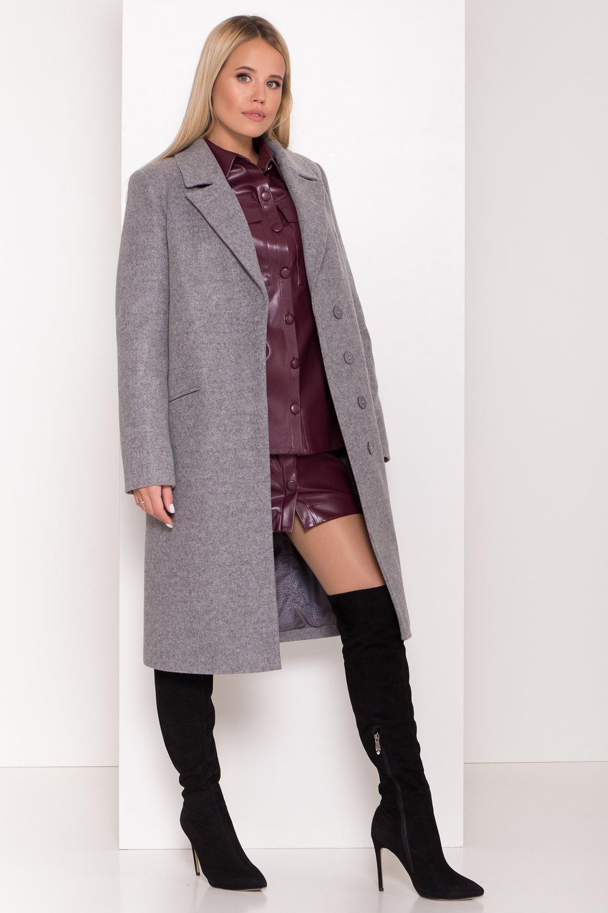 Пальто зима в классическом стиле Реджи классик 8200 Цвет: Серый 1