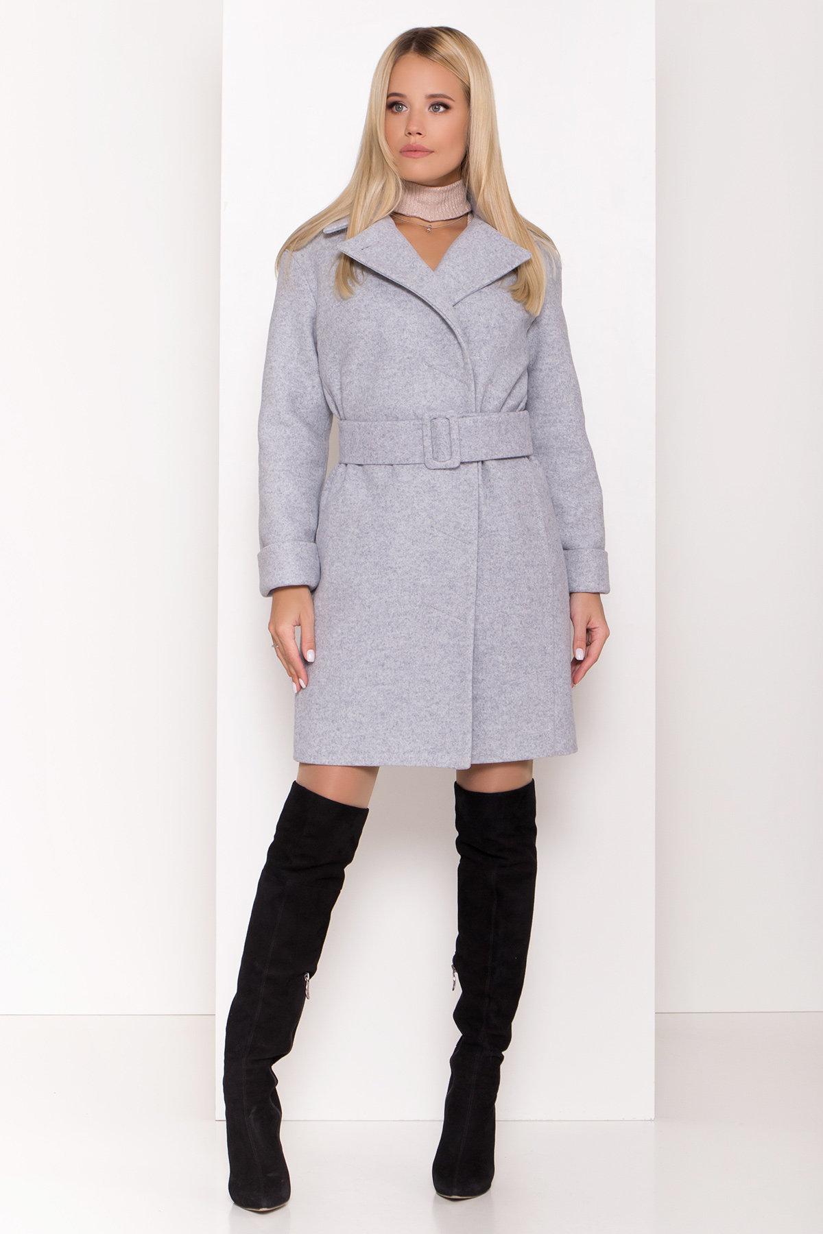 Купить зимнее пальто от производителей Стильное зимнее пальто пастельных тонов Лизи 8122