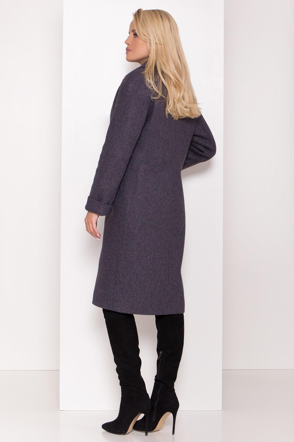 Зимнее пальто с отложным воротником Моле 8085 АРТ. 44036 Цвет: Т.синий 543 - фото 6, интернет магазин tm-modus.ru