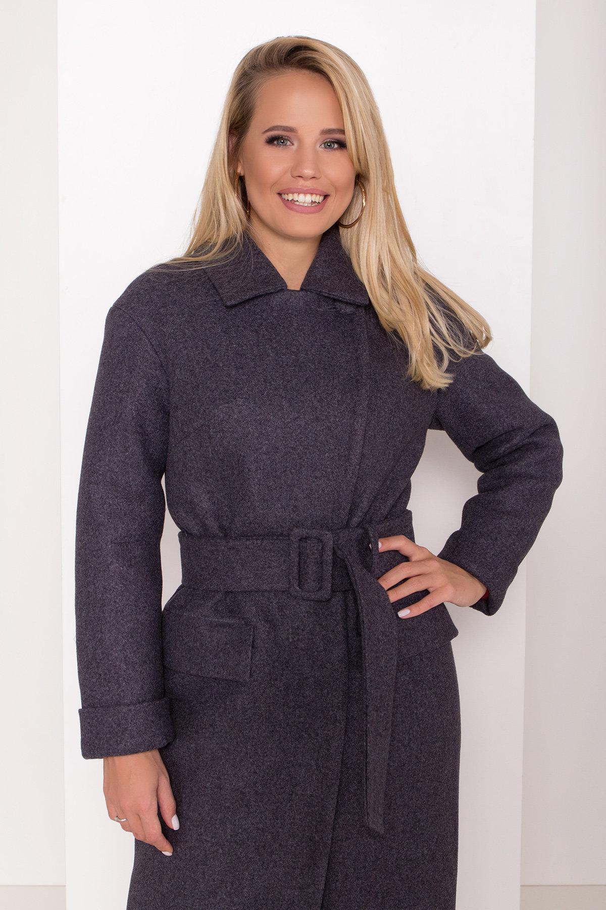 Зимнее пальто с отложным воротником Моле 8085 АРТ. 44036 Цвет: Т.синий 543 - фото 11, интернет магазин tm-modus.ru