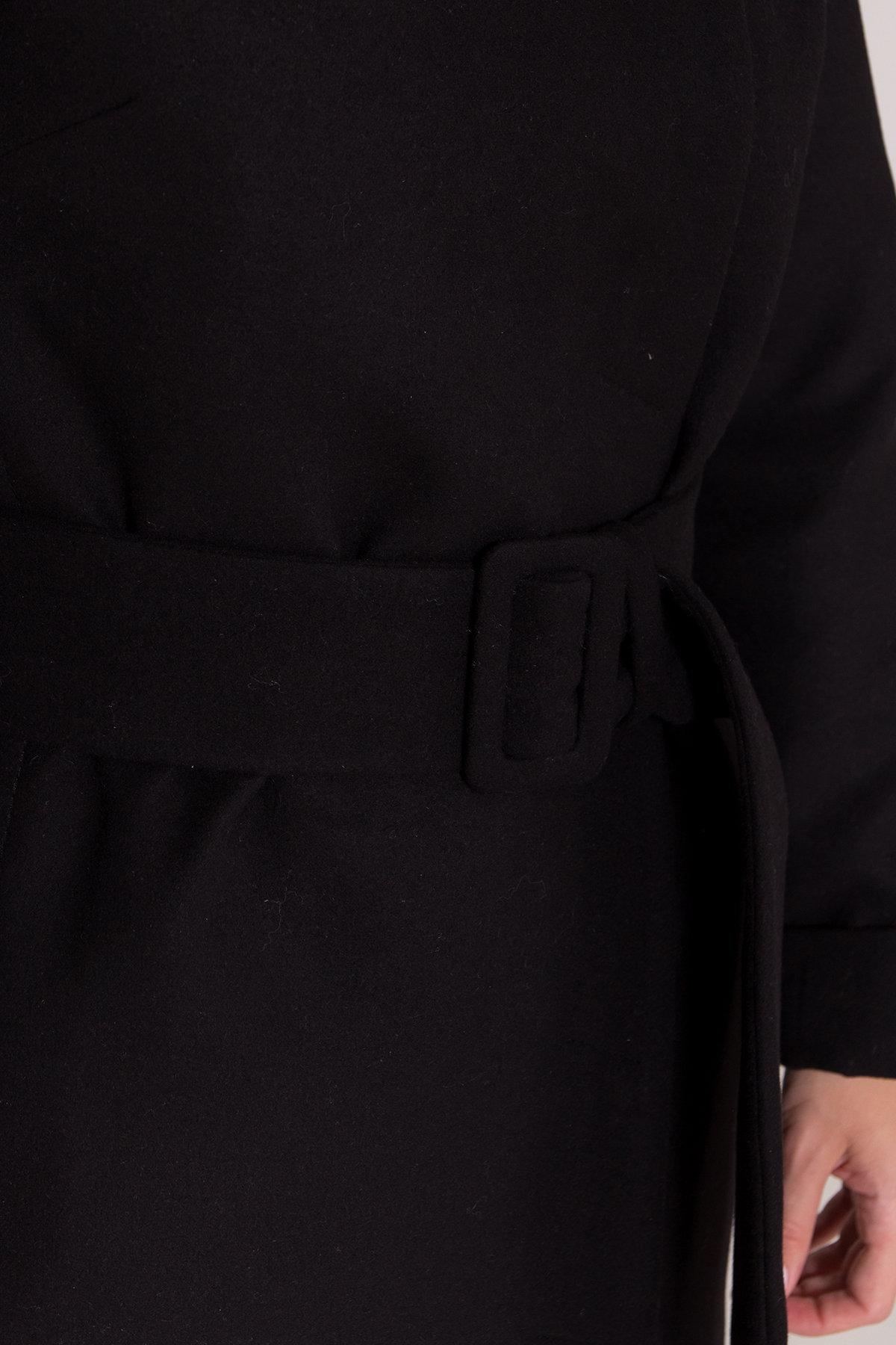 Зимнее пальто в классическом стиле Лизи 8179 АРТ. 44194 Цвет: Черный НL -1 - фото 6, интернет магазин tm-modus.ru