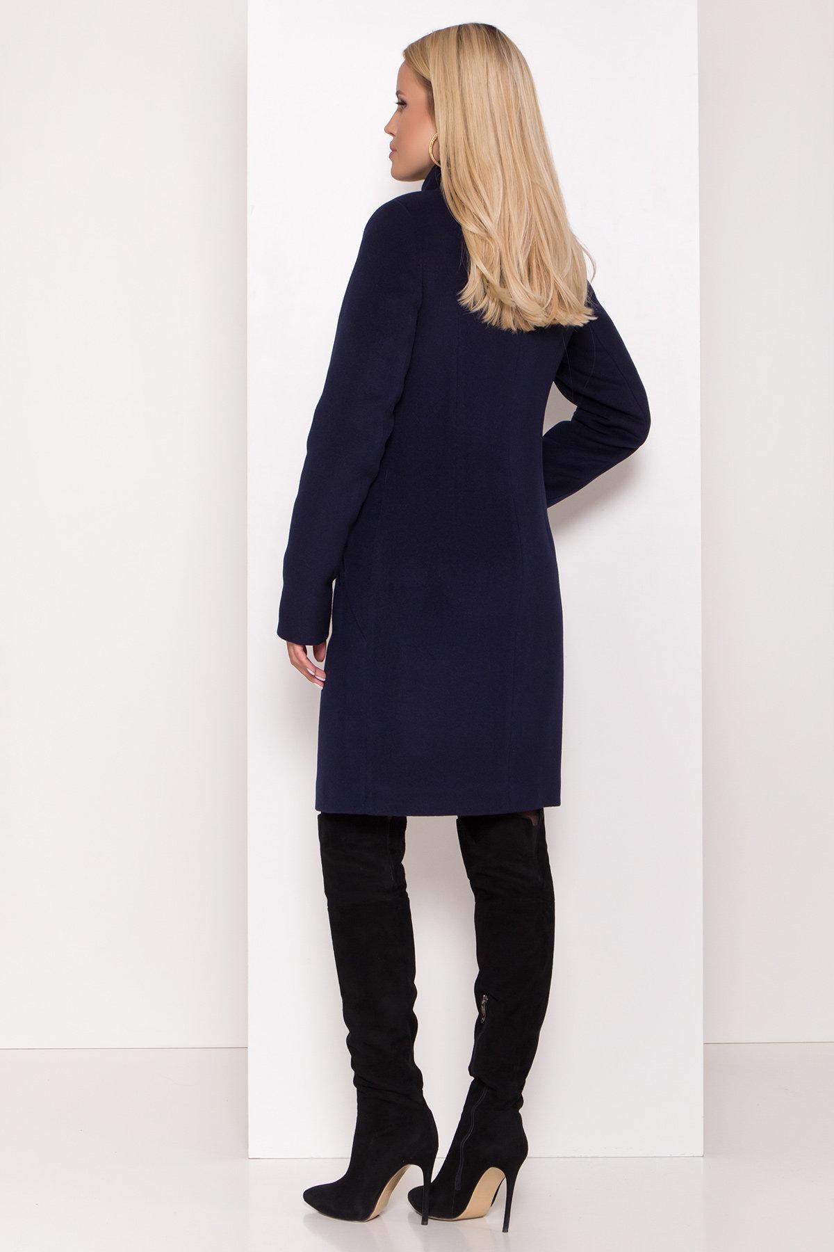 Пальто зима с хомутом Люцея 8211 АРТ. 44224 Цвет: Т.синий Н-14 - фото 9, интернет магазин tm-modus.ru