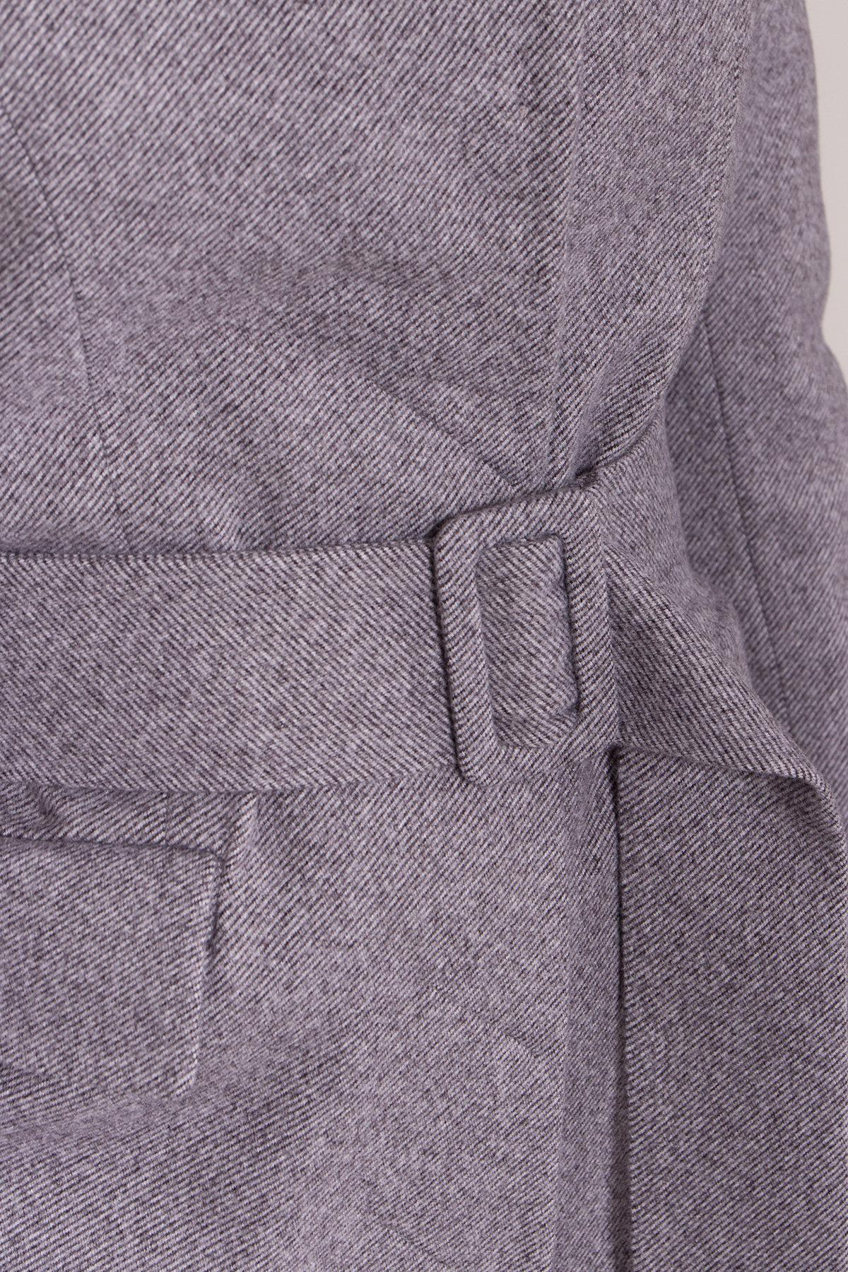 Полуприталенное зимнее пальто с отложным воротником Лабио 8182 АРТ. 44189 Цвет: Серый 2 - фото 11, интернет магазин tm-modus.ru