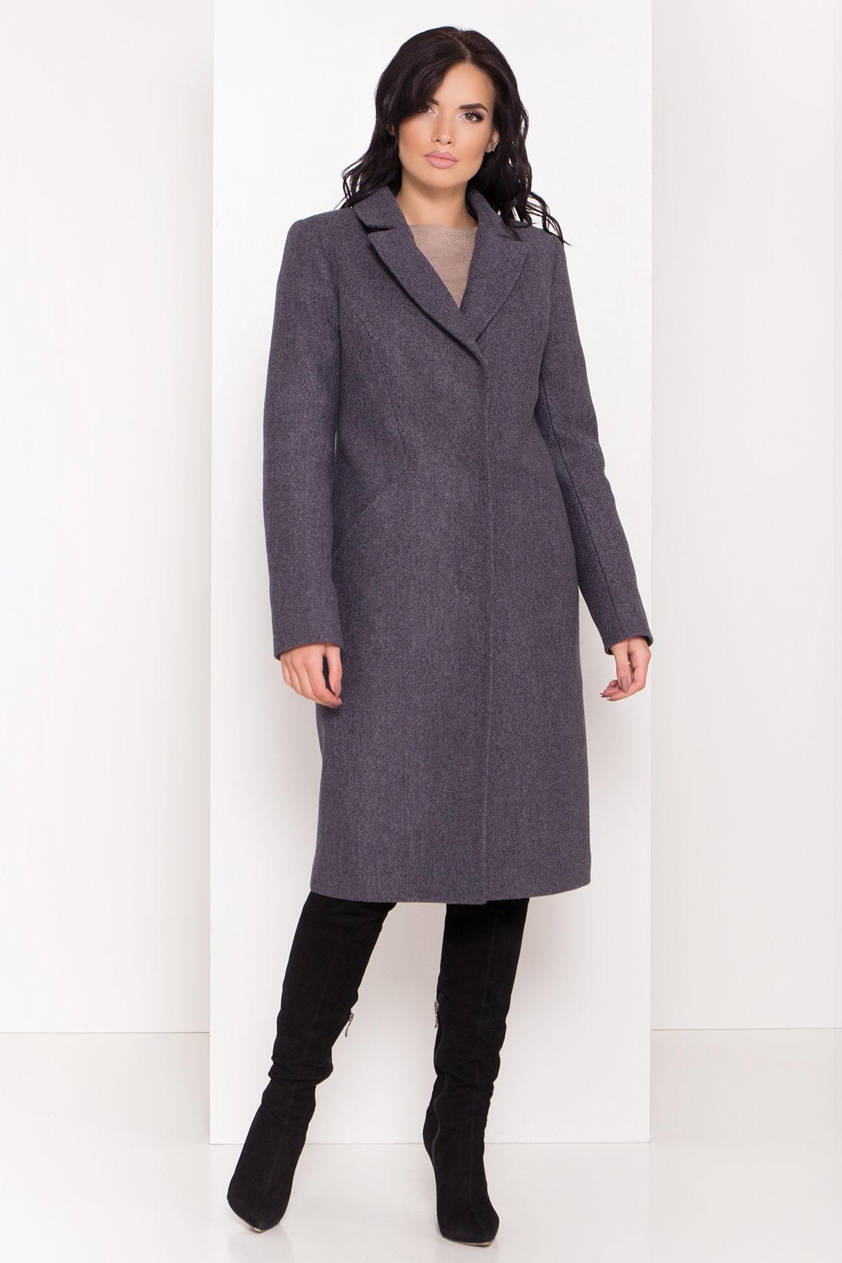 Пальто зима Кареро 8067 АРТ. 44013 Цвет: Т.синий 543 - фото 4, интернет магазин tm-modus.ru
