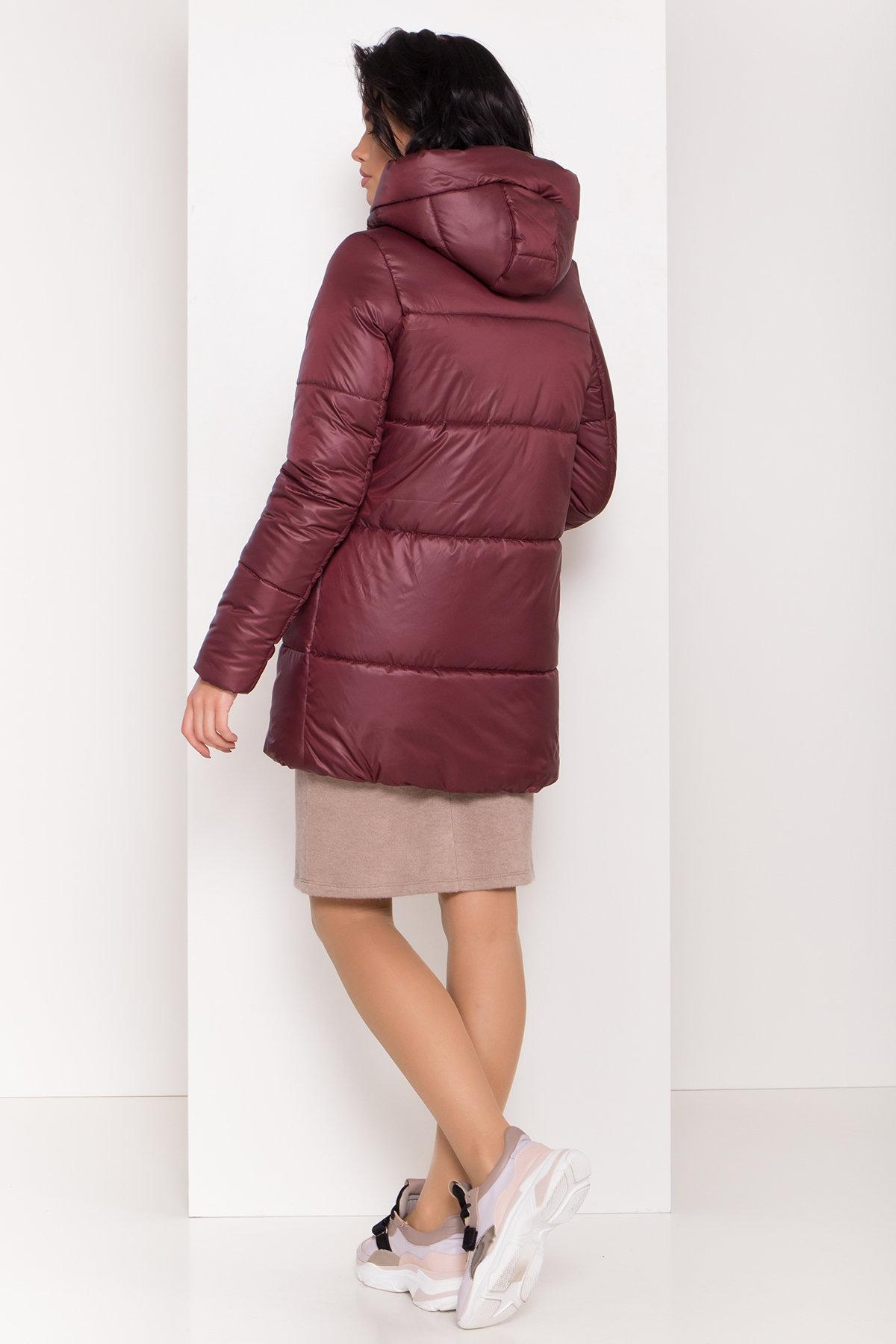 Женская зимняя куртка пуховик Техас Лаке 8238 АРТ. 44286 Цвет: Бордо - фото 2, интернет магазин tm-modus.ru
