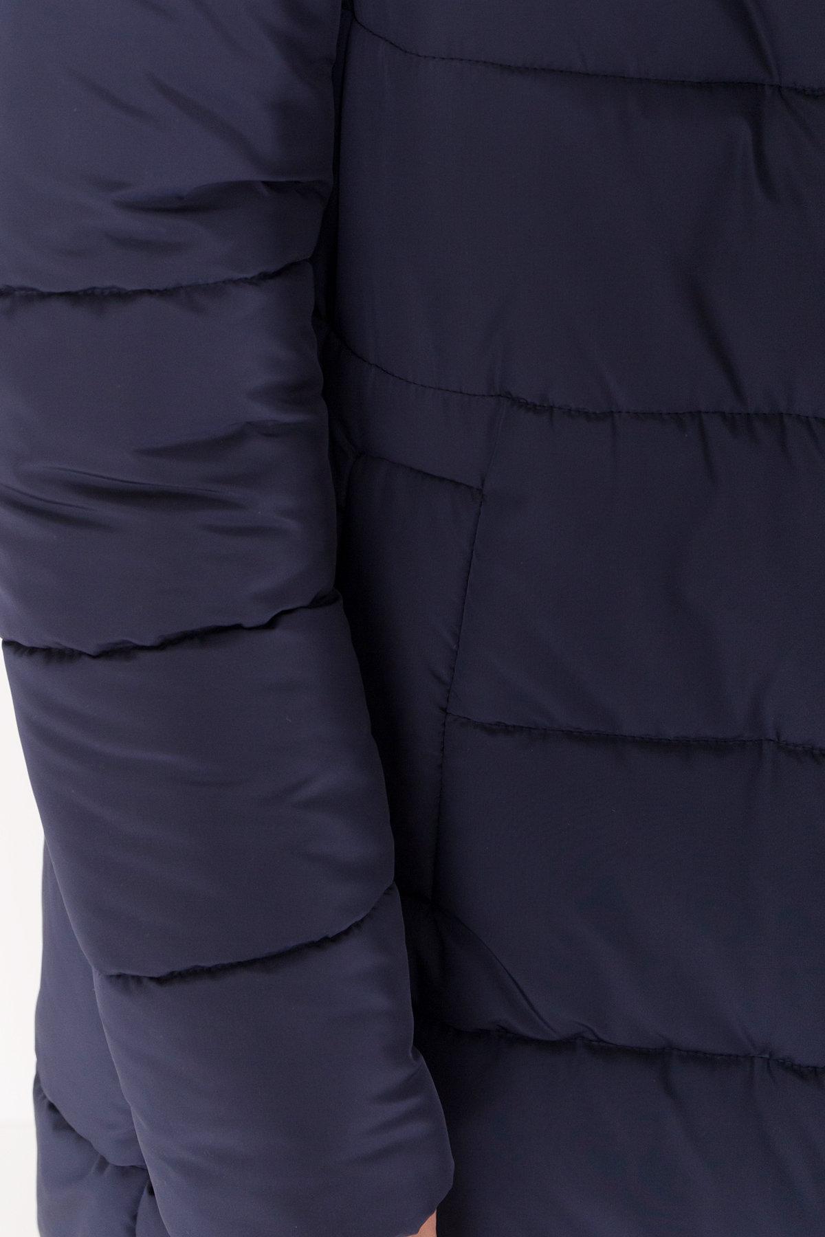 Длинный пуховик зимний Сигма Канада 8230 АРТ. 44269 Цвет: т. синий - фото 5, интернет магазин tm-modus.ru