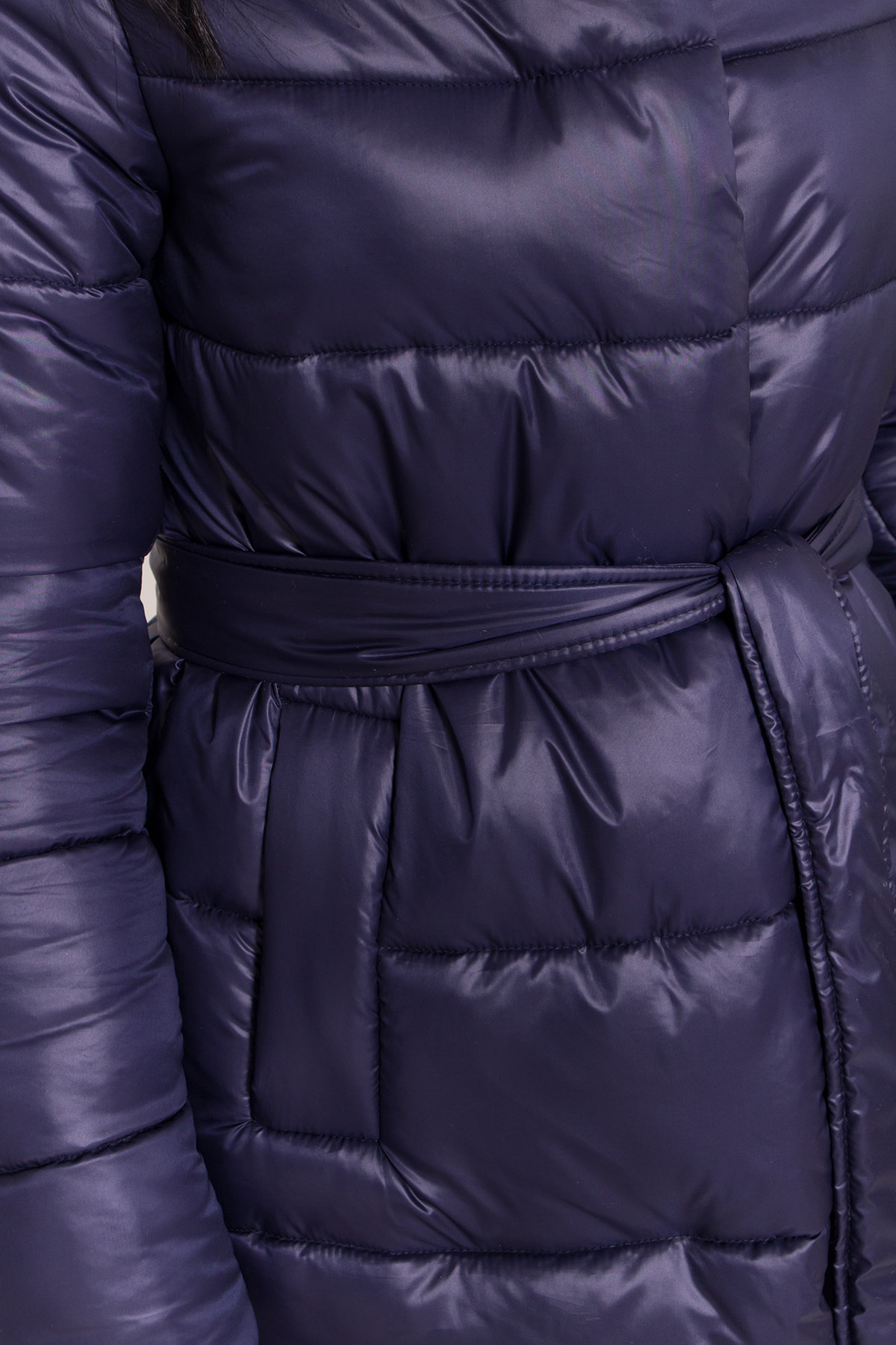 Длинная зимняя куртка-пуховик Сигма 8040 АРТ. 43989 Цвет: Т.синий - фото 5, интернет магазин tm-modus.ru