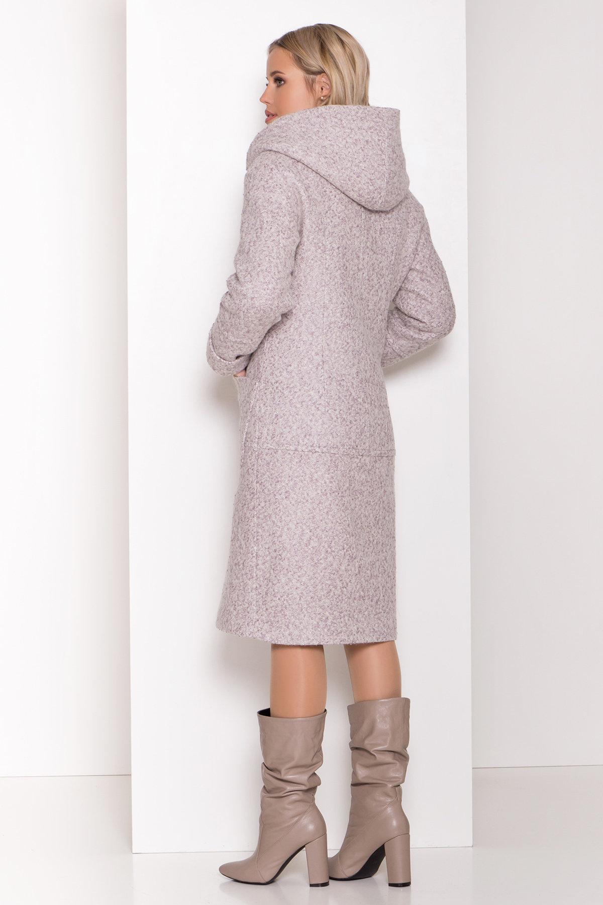 Пальто зима шерсть букле Анита 8320 АРТ. 44439 Цвет: Серый/бежевый 24 - фото 7, интернет магазин tm-modus.ru
