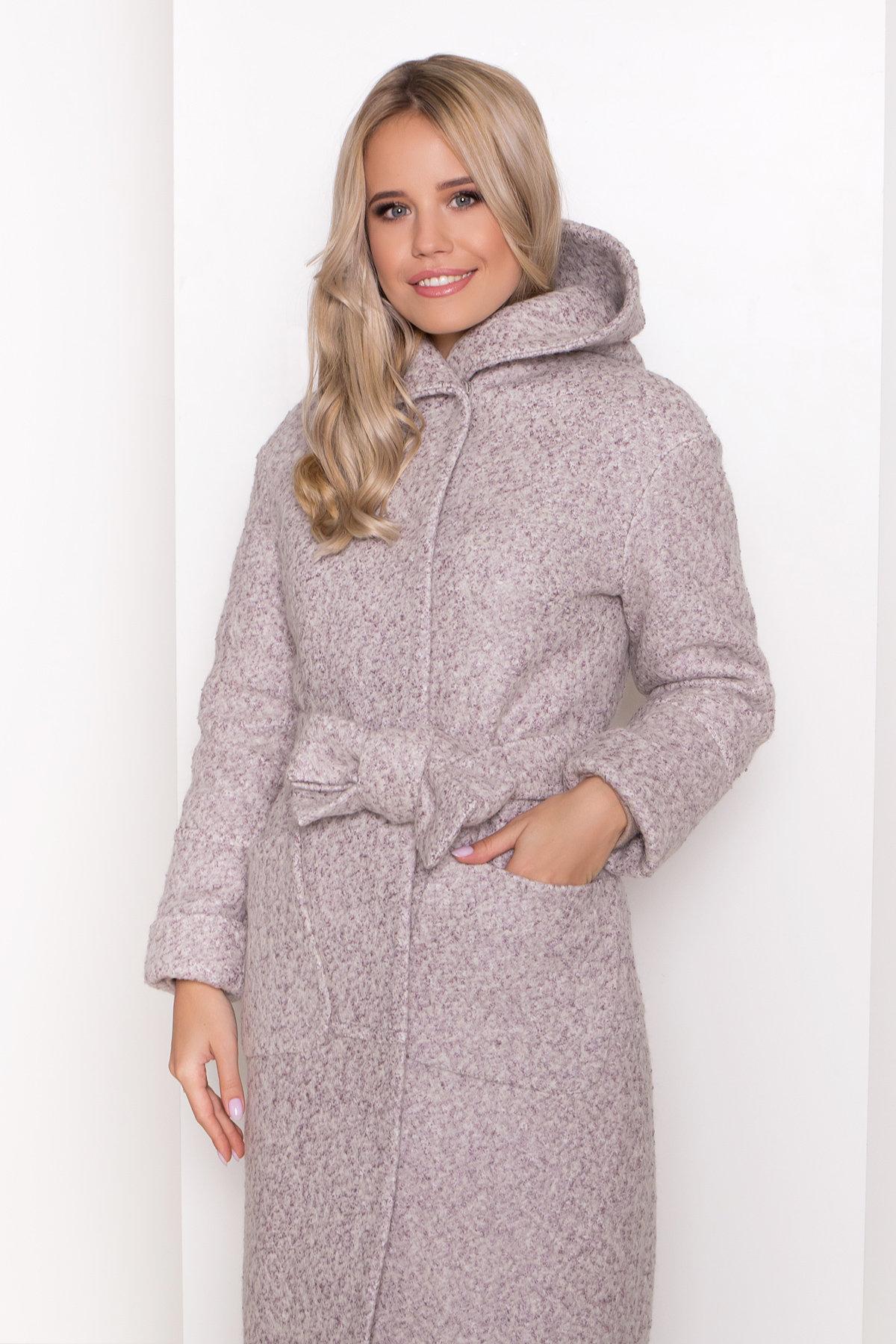 Пальто зима шерсть букле Анита 8320 АРТ. 44439 Цвет: Серый/бежевый 24 - фото 13, интернет магазин tm-modus.ru