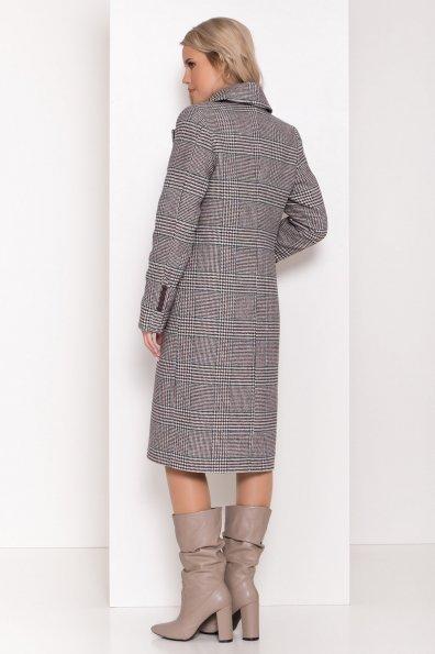 Пальто зима Эрли 8267 Цвет: Клетка кр чер/мол/изумр