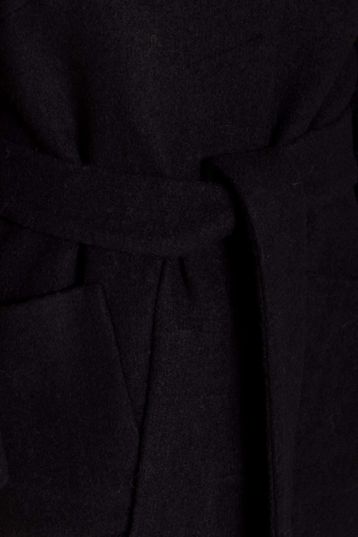 Пальто с капюшоном зимнее Анита 8327 АРТ. 44473 Цвет: Черный - фото 6, интернет магазин tm-modus.ru