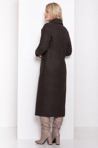 Длинное пальто зима Вива макси 8341 Цвет: Хаки 16