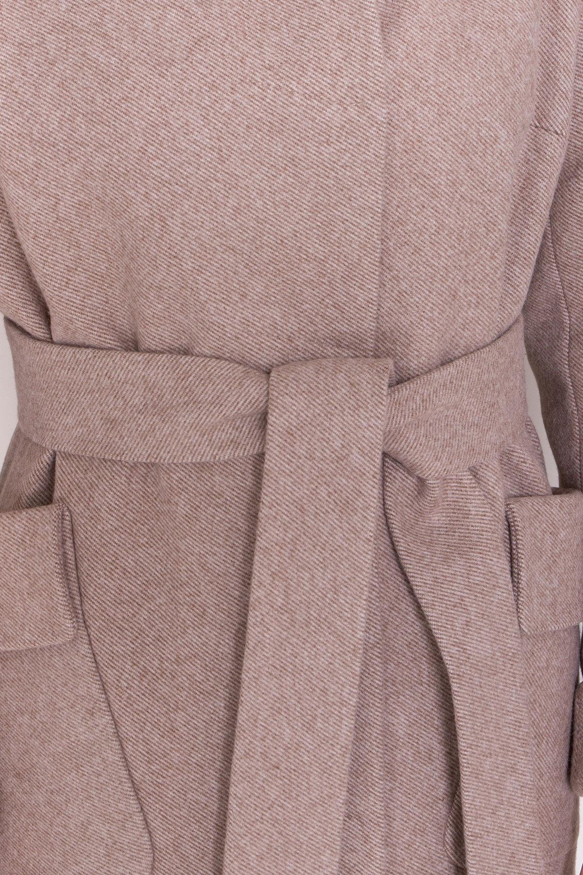Пальто зима Анджи 8455 АРТ. 44727 Цвет: Бежевый меланж - фото 6, интернет магазин tm-modus.ru