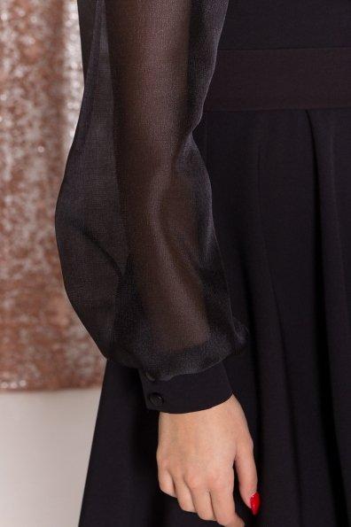 Платье Джелла 8370 Цвет: Черный