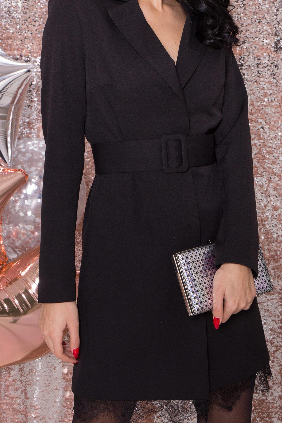 Платье-жакет Маренго 8426 АРТ. 44664 Цвет: Черный - фото 6, интернет магазин tm-modus.ru