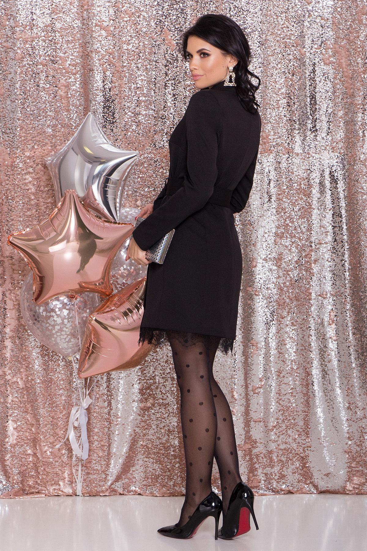 Платье-жакет Маренго 8426 АРТ. 44664 Цвет: Черный - фото 7, интернет магазин tm-modus.ru