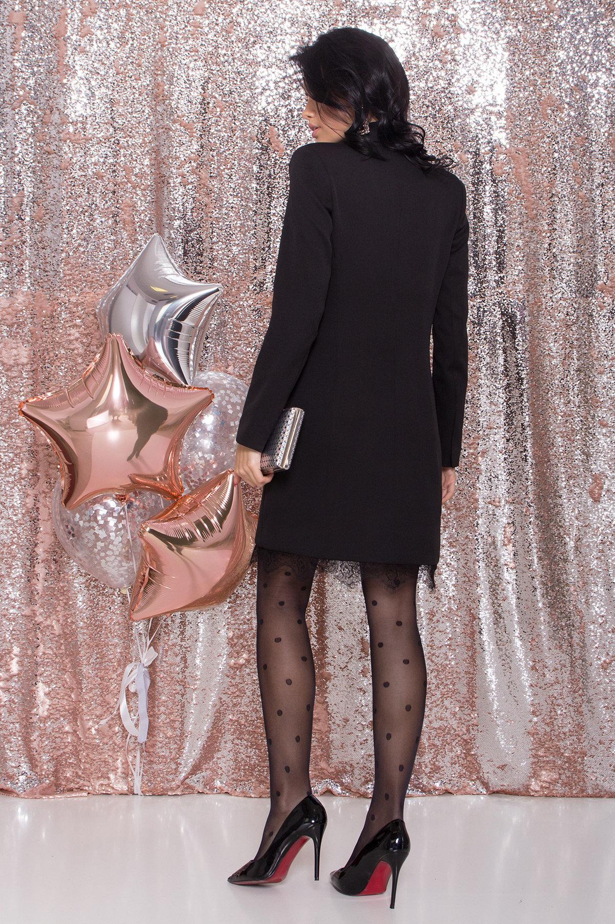 Платье-жакет Маренго 8426 АРТ. 44664 Цвет: Черный - фото 9, интернет магазин tm-modus.ru