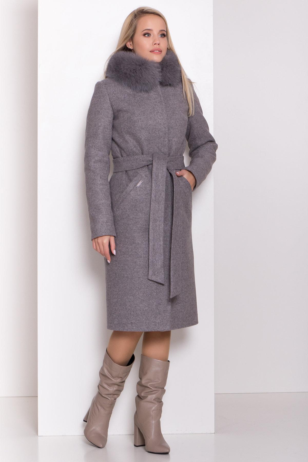 Зимнее пальто оптом от Modus Утепленное пальто зима Люцея 8417