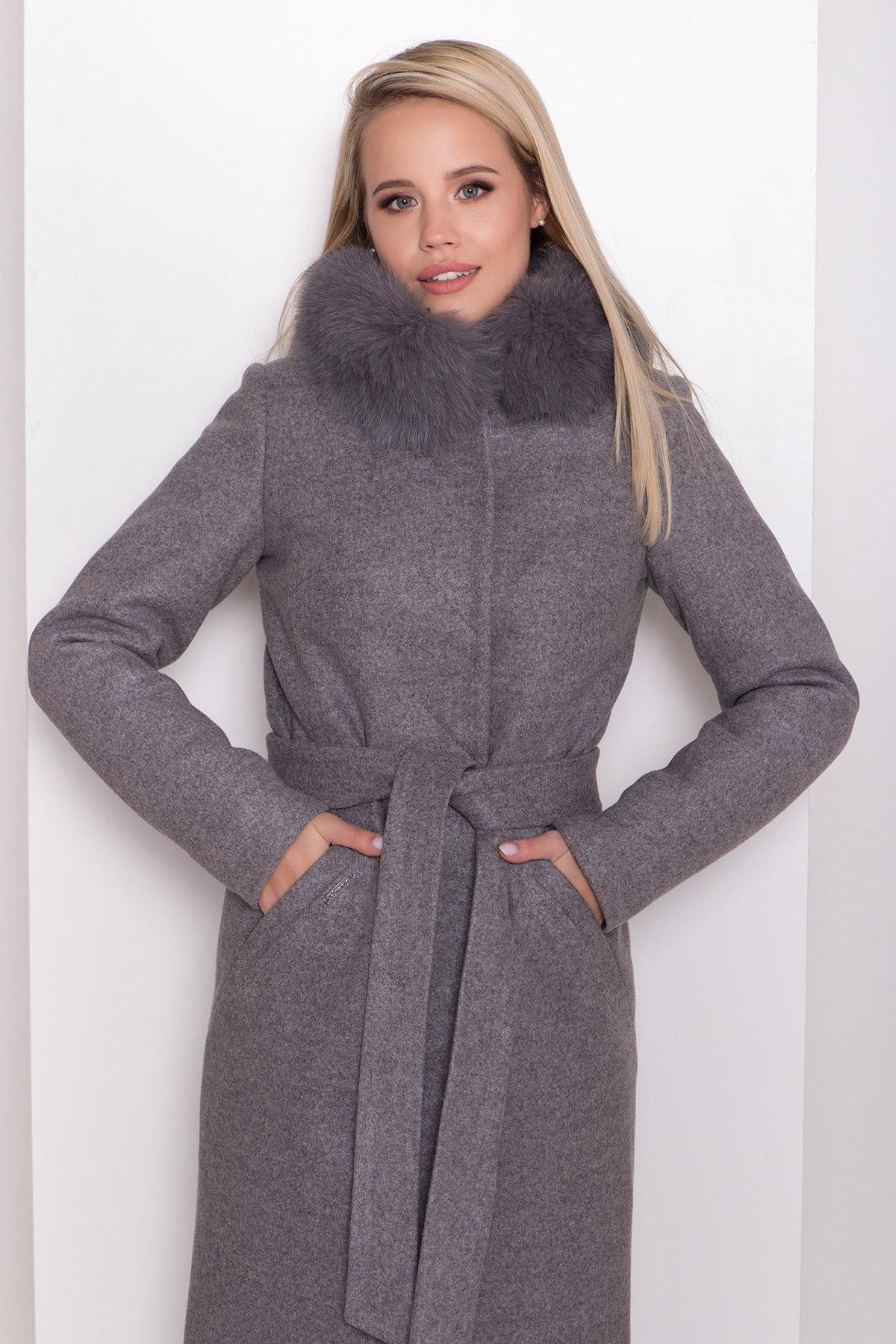 Утепленное пальто зима Люцея 8417 АРТ. 44667 Цвет: Карамель 20/1 - фото 5, интернет магазин tm-modus.ru