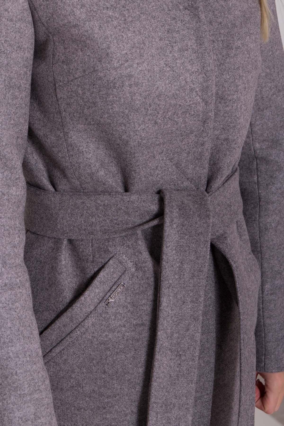 Утепленное пальто зима Люцея 8417 АРТ. 44667 Цвет: Карамель 20/1 - фото 6, интернет магазин tm-modus.ru