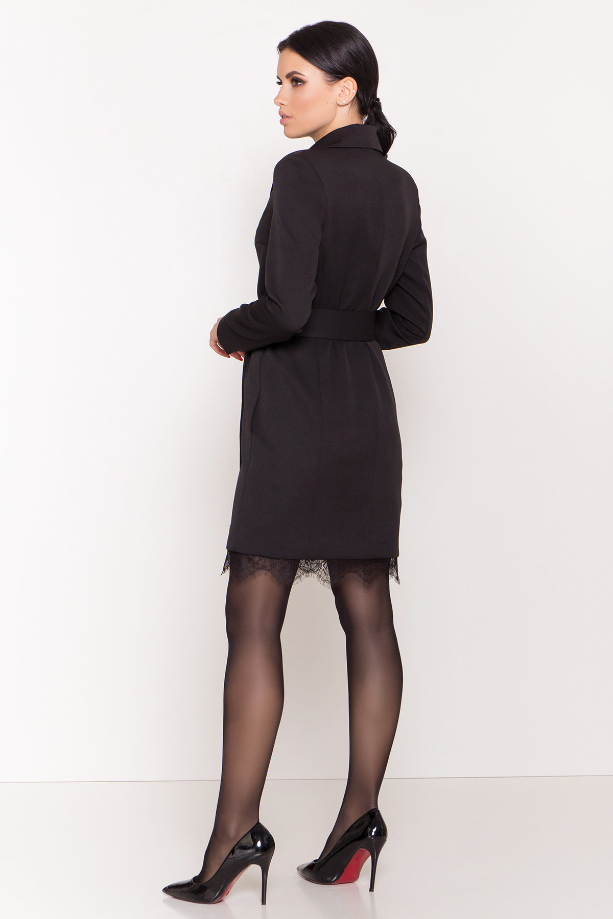 Платье-жакет Маренго 8426 АРТ. 44664 Цвет: Черный - фото 5, интернет магазин tm-modus.ru